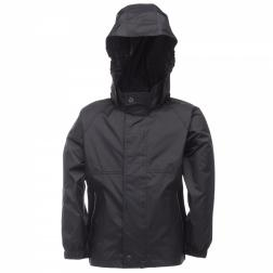 KW943     Kids Packaway Jacket  - Colour Black