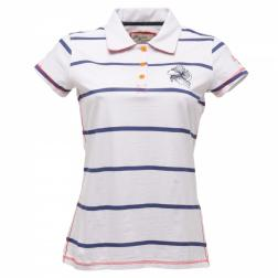 RWT054    Birdsong Polo Shirt  - Colour White/Navy