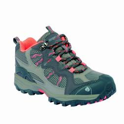 RKF243    Crossland Low Jnr Boot  - Colour Granite/Prsimmon