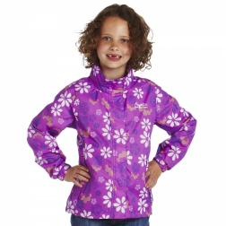 RKW105    Lisa Printed Jacket  - Colour Dewberry
