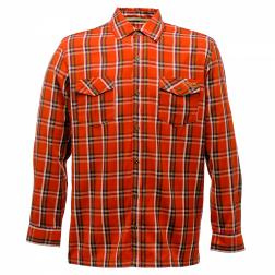 RMS050    Fergus Shirt  - Colour Burnt Orange