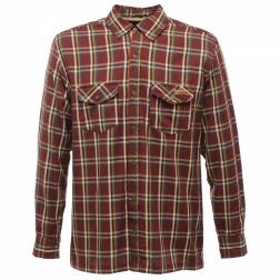 RMS050    Fergus Shirt  - Colour Dark Burgundy
