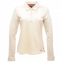 RWT058    If Only Long Sleeve Polo Shirt  - Colour Polar Bear