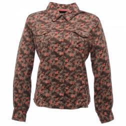 RWS032    Florry Floral Shirt  - Colour Otter