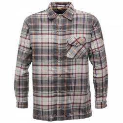 RMS061    Lumbar Sherpa Shirt  - Colour Iron