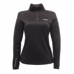 RWU018    Womens Base Zip  - Colour Black