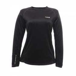RWU016    Womens Long Sleeve Base Layer  - Colour Black