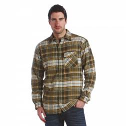 RMS061    Lumbar Sherpa Shirt  - Colour Dark Khaki