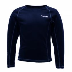 RKU006    Kids Long Sleeve Base Layer  - Colour Black