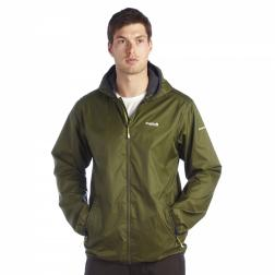 RMW159    Lever Packaway Jacket  - Colour Racing Green