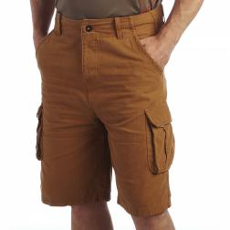 RMJ094    Kean Shorts  - Colour Camel
