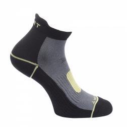 RWH022    Xert Trial Runner Socks  - Colour Black/Lemon