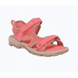 RKF299    3 for 2 deals: Kids Ad-Flux II Sandals  - Colour Toffee/PchBm