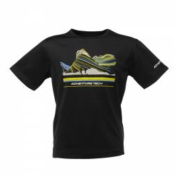 RKT050    Starcrest T-Shirt  - Colour Black
