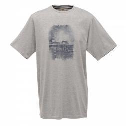 RMT073    Utah T-Shirt  - Colour Grey Marl