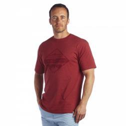 RMT073    Utah T-Shirt  - Colour Rhubarb Red