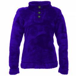 RWA109    Hug Me Half Zip Fleece  - Colour Purple Grape