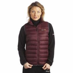 RWB038    Womens Iceway Bodywarmer  - Colour Dark Burgundy