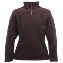 RMA084    Rosen Half Zip Fleece  - Colour Peat