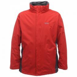 RMP019    Telman 3 In 1 Jacket  - Colour Chilli Pepper/Iron