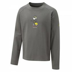 CKT454    NosiLife Long-Sleeve Graphic Top  - Colour Granite