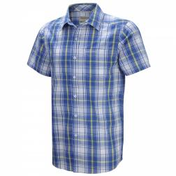 CMS411    Ricardo Short-Sleeved Shirt  - Colour Strong Blue