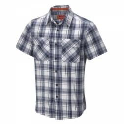 CMS419    Bear Life Style Short-Sleeved Shirt  - Colour French Navy Combo