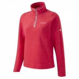 SCWA030   Womens Lifestyle Fleece  - Colour Geranium Red