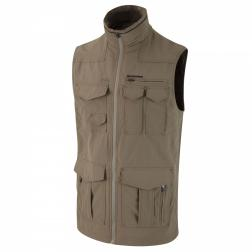 CMB768    NosiLife Sherman Gilet  - Colour Black Pepper