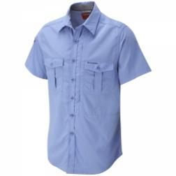 CMS327    NosiLife Short-Sleeved Shirt  - Colour Maya Blue