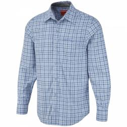 CMS408    Miguel Long-Sleeved Shirt  - Colour Light Strong Blue