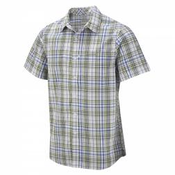 CMS409    Ismael Short-Sleeved Shirt  - Colour Larch Green