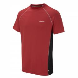 CMT682    Base T-Shirt  - Colour FlashRed/Black