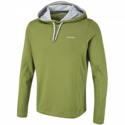 CMT703    NosiLife Alvero Hooded Top  - Colour Larch Green