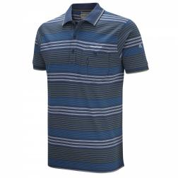 CMT708    Ernesto Polo Top  - Colour Faded Indigo