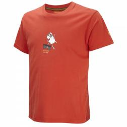 CMT712    Lucho Short-Sleeved T-Shirt  - Colour Red Pepper