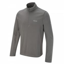 CMT722    NosiLife Walter Half-Zip  - Colour Granite
