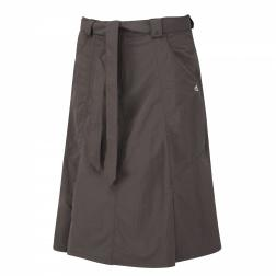 CWJ982    NosiLife Skirt  - Colour Mid Khaki