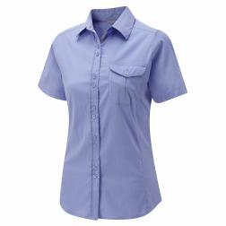 CWS362    Kiwi Short-Sleeved Shirt  - Colour Ink