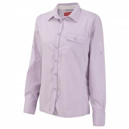 CWS378    NosiLife Darla II Long-Sleeved Shirt  - Colour Pale Lilac