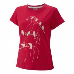 CWT1047   Malena Logo Top  - Colour Geranium Red