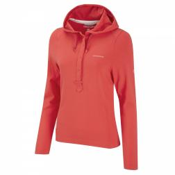 CWT1050   NosiLife Gabriela Hooded Top  - Colour Geranium Red