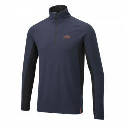 CMT688    Bear Technical Long-Sleeved Top  - Colour French Navy/Black