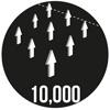 10,000 Breathability