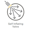 Self Inflating Valve