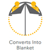 Converts into Blanket