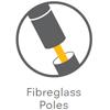 Fibreglass Poles