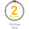 2 sec pitching time