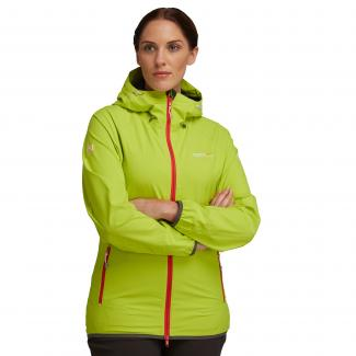Womens Evitts Jackets - Lime Punch