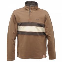 RMA078    Westray Zip Top  - Colour Aztec Brown